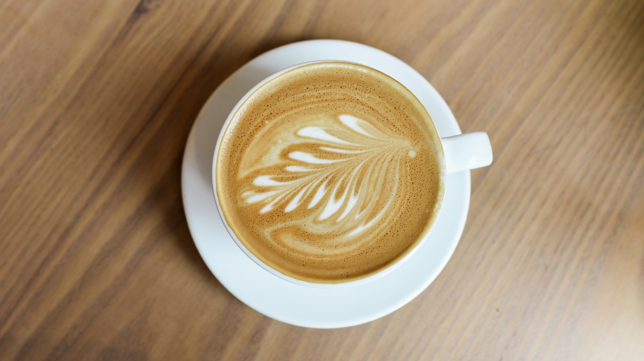We headed to Broadcast Coffee in the Roosevelt District for another cup of joe. The latte was smooth. The flavor was strong but not overwhelming. This was a good latte. (Image: Rebecca Mongrain/Seattle Refined)