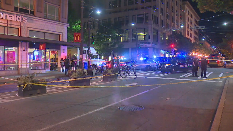 e1b490f93ea7 Man fighting for life after hatchet attack in Downtown Seattle