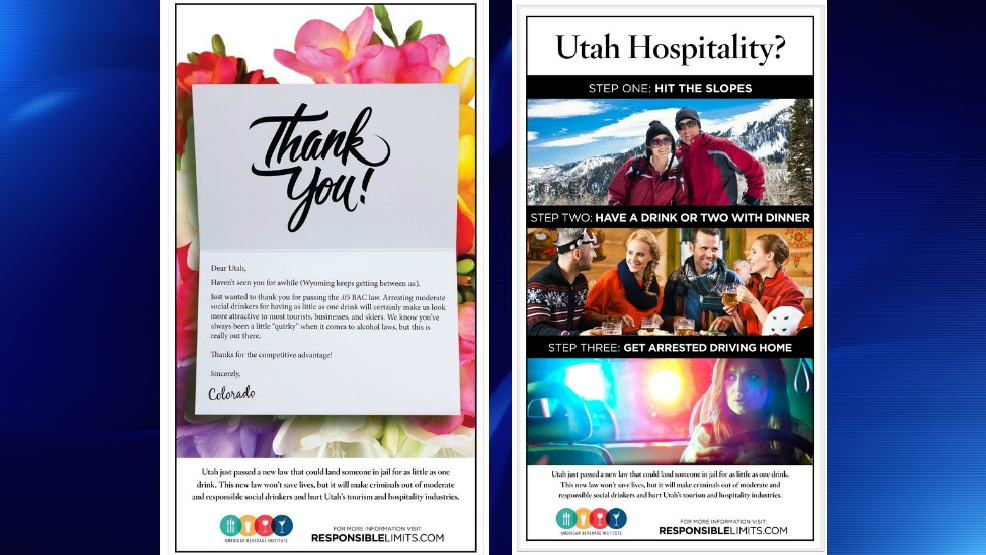 Utah Mocked By American Beverage Institute For Attempt To Lower