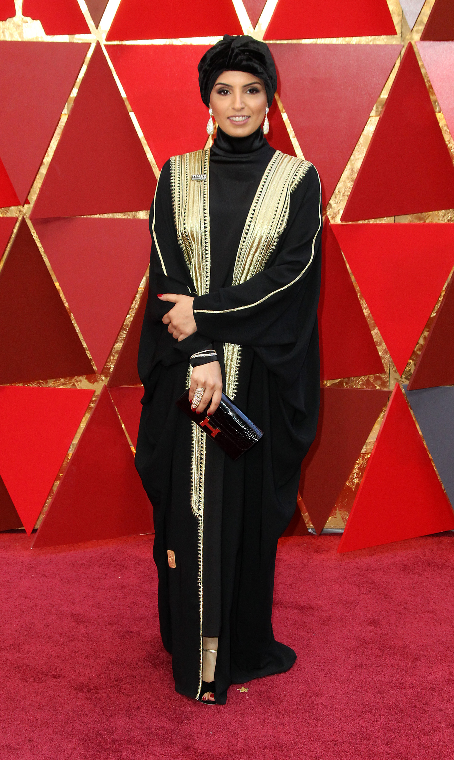 Fatma Al Remaihi{&nbsp;}arrives at the 90th Annual Academy Awards (Oscars) held at the Dolby Theater in Hollywood, California. (Image: Adriana M. Barraza/WENN.com)<p></p>