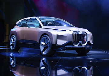 The Latest: BMW gives glimpse of future offerings