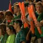 Mahomet-Seymour students honor Mattoon High School during Homecoming game