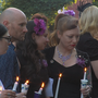 Community remembers Kelly O'May at Wednesday vigil