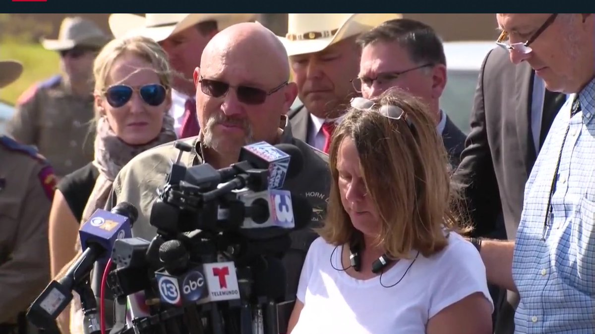 The pastor and wife who lead the First Baptist Church spoke out about the teenage daughter they lost in the attack. (Sinclair Broadcast Group)