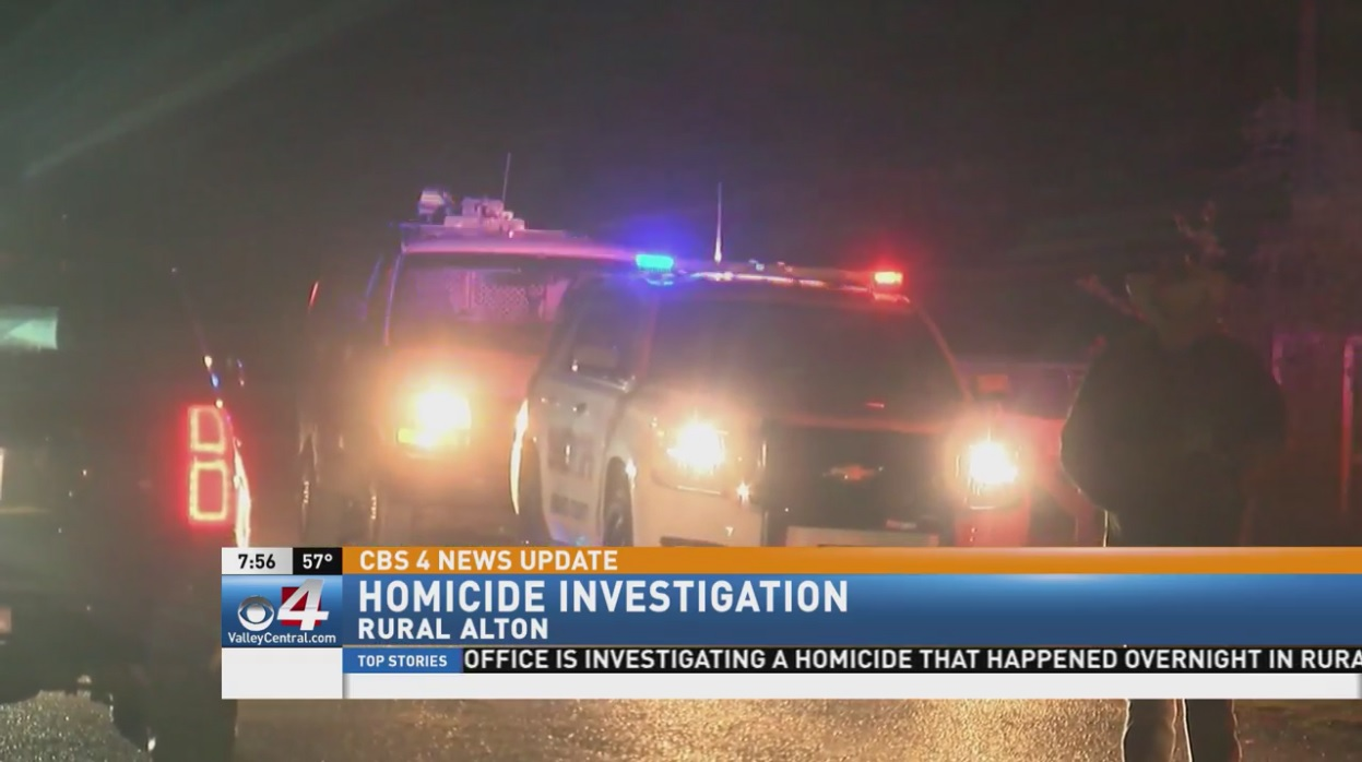 Investigators found a 38-year-old man dead Monday night near Alton.