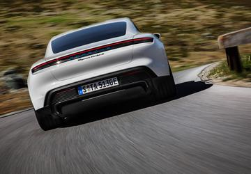 The 2020 Porsche Taycan is here