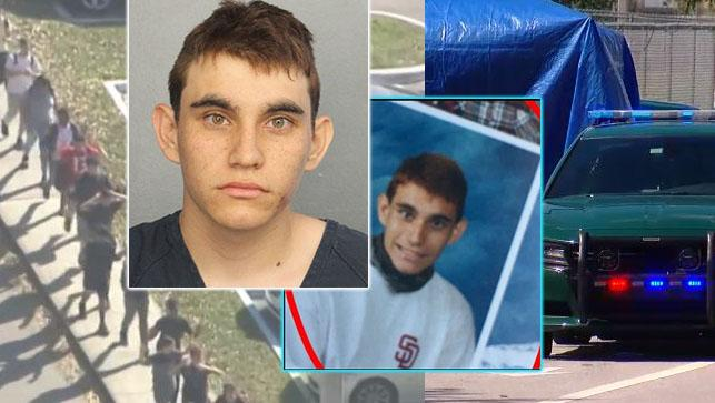 Nikolas Cruz is accused of gunning down 17 people at Stoneman Douglas High School in Parkland on Valentine's Day. (WPEC)