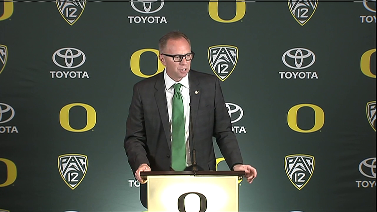 "<a href=""https://sinclairstoryline.com/search?find=Rob+Mullens"" target=""_blank"">Oregon athletic director Rob Mullens</a> will become the new chairman of the <a href=""https://sinclairstoryline.com/search?find=College+Football+Playoff"" target=""_blank"">College Football Playoff</a> selection committee starting next season, and three new Power Five ADs will join the 13-member panel. (SBG)"