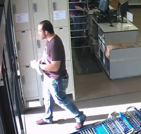 Police asked for the public's help identifying a man suspected of using counterfeit currency at stores and restaurants. Anyone with information about the identity of the suspect is asked to call (541) 682-5111.