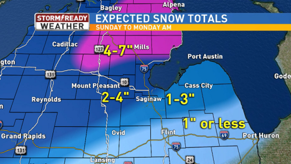 Snow, wind, and flooding: What you will see with our Sunday
