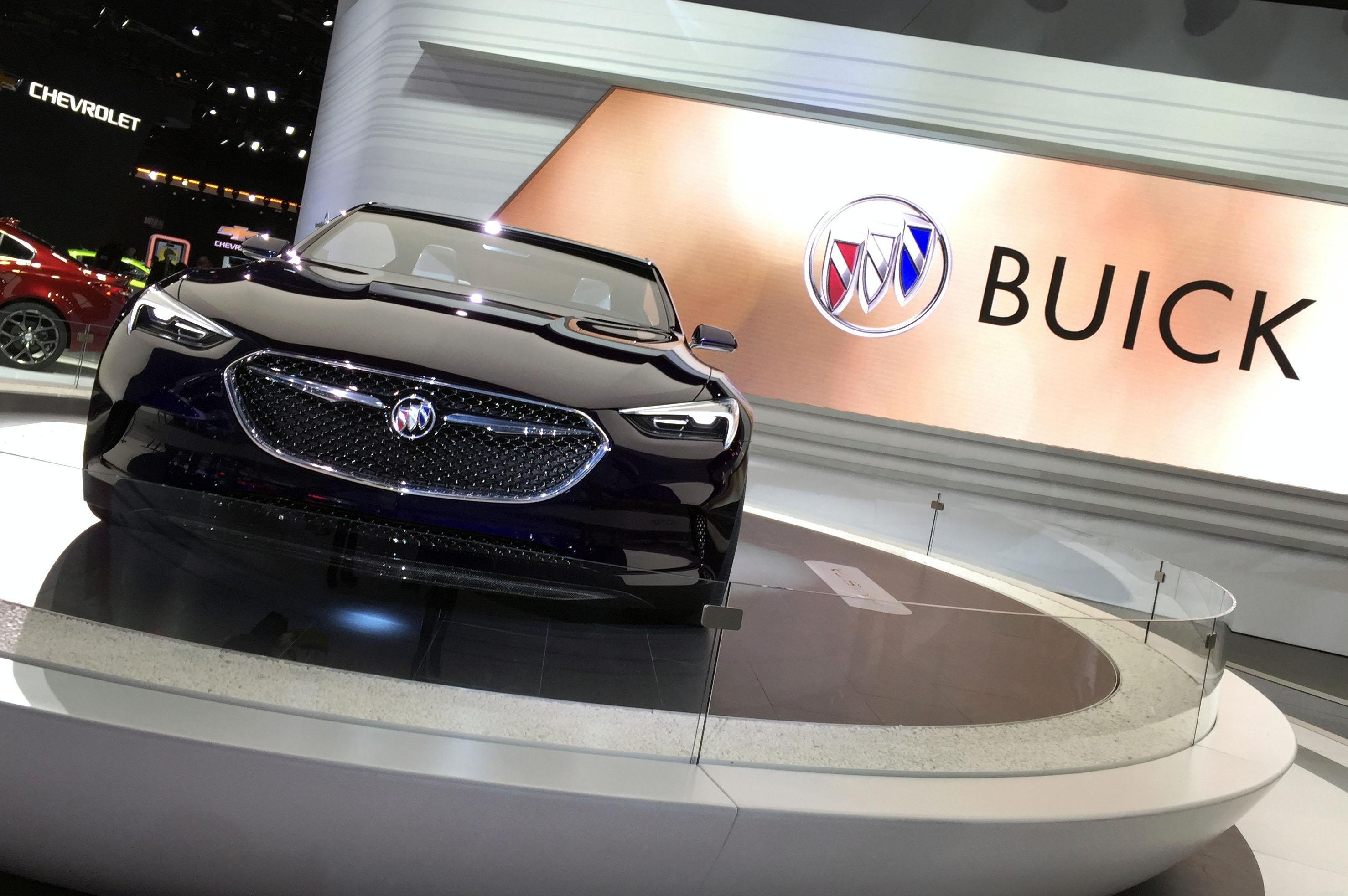 Buick Avista Concept (Photo by Jill Ciminillo)