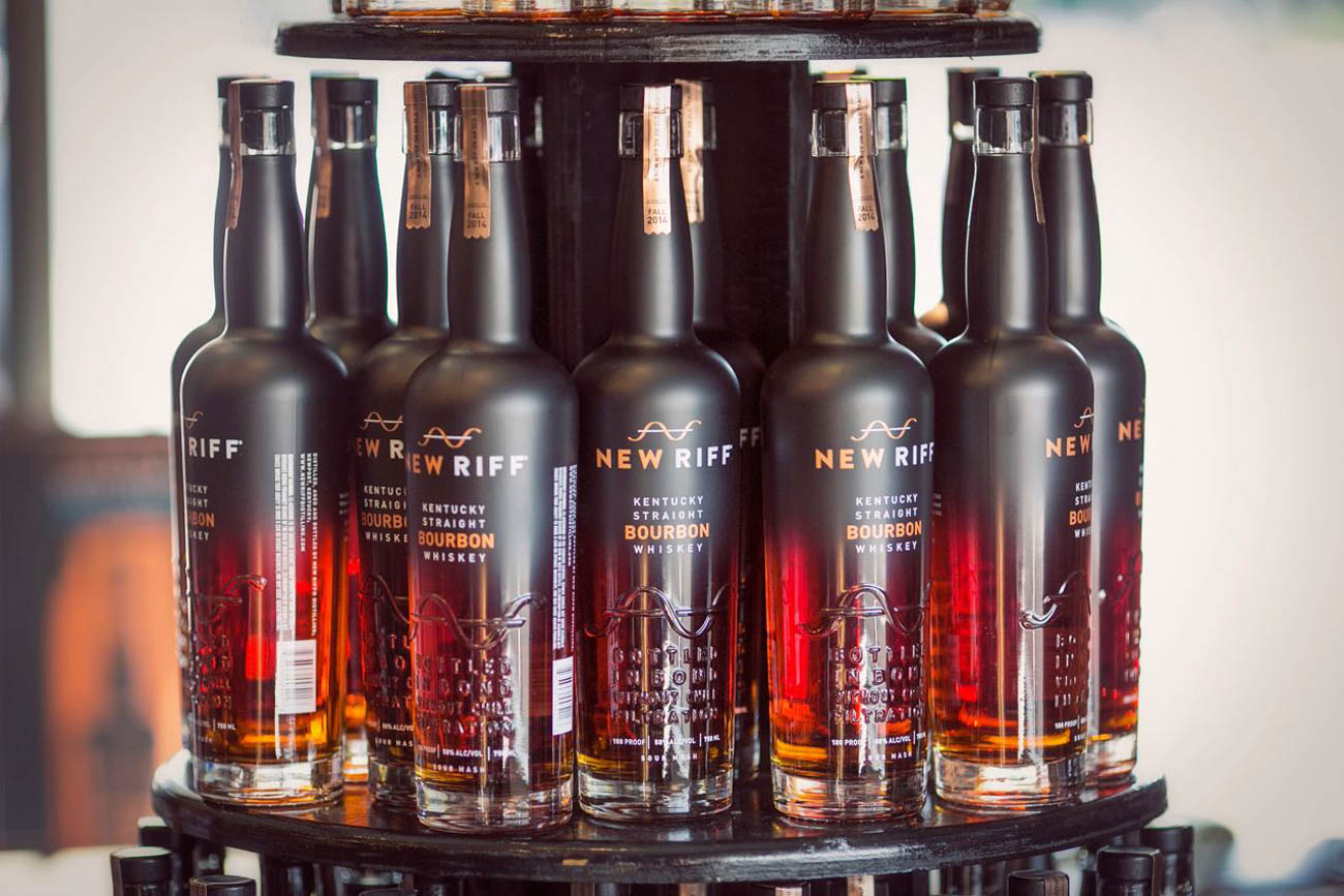 <p>They've done branding work for New Riff Distillery in Newport. / Image: Mike Bresnen // Published: 9.24.19</p>