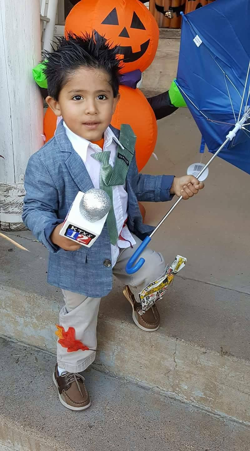 This future KTXS reporter is Elijah Pacanins from Albany. He's 2 1/2 years old. (Courtesy: Megan Pacanins) Â?