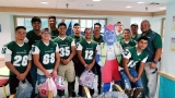 Montwood players pay it forward to children in hospital