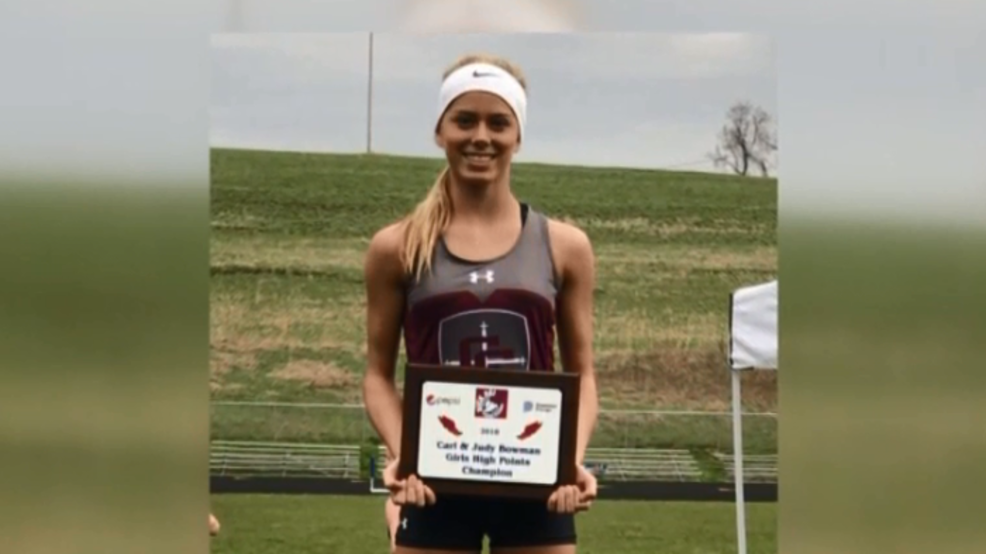 4.18.18 Athlete of the Week -  Kenadee Wayt, Wheeling Central track