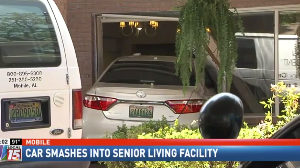 Car smashes into senior living facility | WJTC