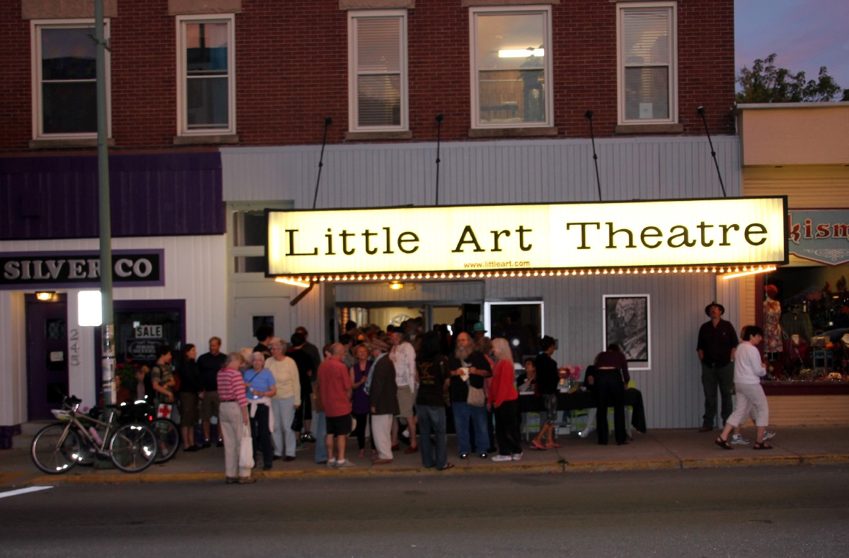 Yellow Springs is known for its art, theatre, and general creativity. Case in point: The Little Art Theatre, a beautifully renovated venue showing first runs, documentaries, and retro movies. [Image courtesy of Yellow Springs Chamber]