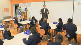 Stafford County students learn etiquette through 'Boys in Blazers' program
