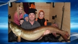 49 inch muskie caught in Okoboji