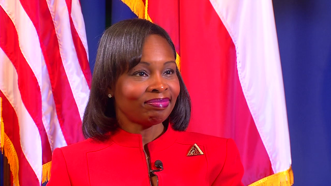 """I do believe that there's been some value to people turning on the news and seeing my black face as the mayor of San Antonio. That will challenge people to think outside the box as far as their expectations of minorities and women,"" said Mayor Ivy Taylor. (SBG San Antonio)"