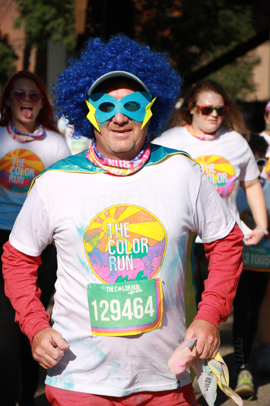 The 2019 Color Run was held on Saturday, August 24 on the riverfront. Thousands participated in the untimed 5K that features an explosion of celebratory, colorful dust after crossing the finish line. The race is held annually in Cincinnati and around the country. / Image: Dr. Richard Sanders // Published: 8.25.19