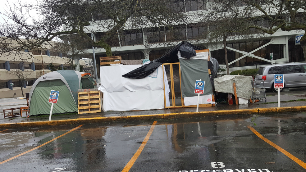 "KVI Interview: ""Melissa"" from Seattle homeless tent 'mansion'"