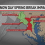 Snow days threaten to reduce spring breaks for some Maryland schools