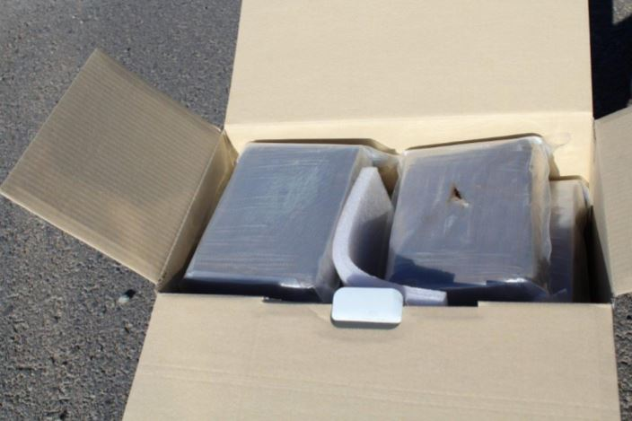 Over 20 pounds of cocaine were found in a trailer during a traffic stop in west El Paso.{&amp;nbsp;}<p></p>