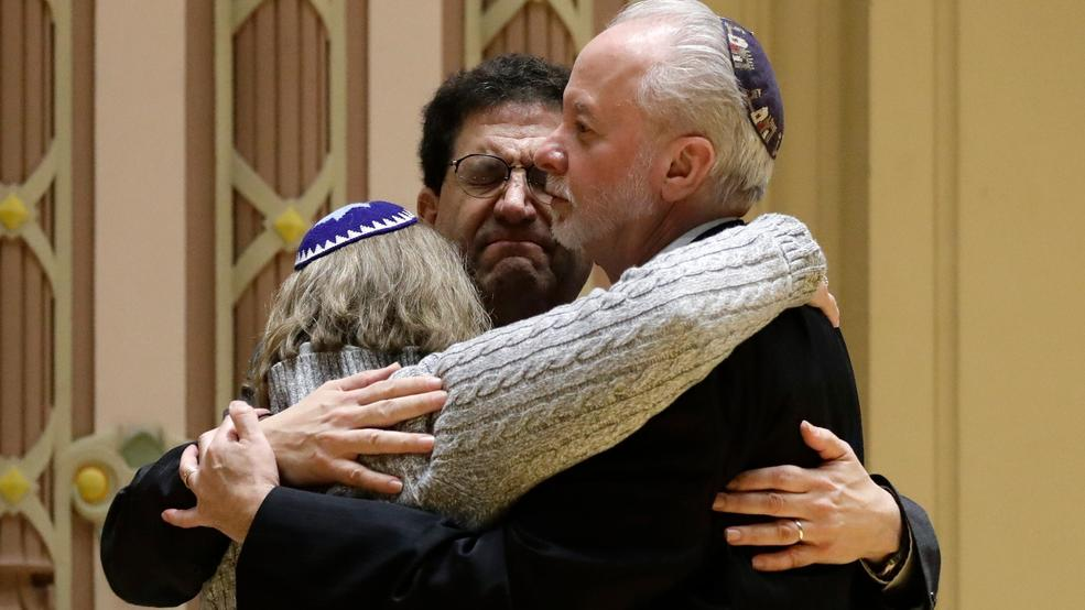 Pittsburgh synagogue shooting rabbi Jeffrey Myers AP17.jpg