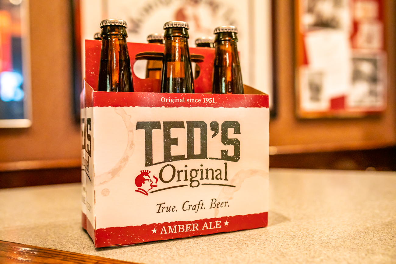 Ted's Original bottled beer is available to purchase at Montgomery Inn / Image: Amy Elisabeth Spasoff // Published: 11.2.2018