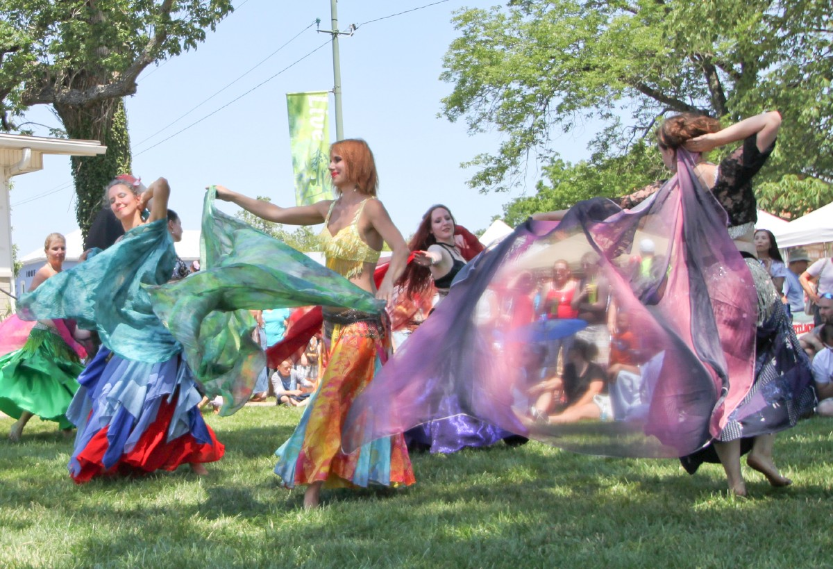 Cultural events and colorful festivals: just part of regular life in Yellow Springs. [Image courtesy of Yellow Springs Chamber]