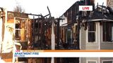 Family of 5, students displaced in Bellevue apartment fire
