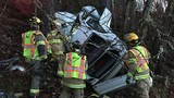 Emergency crews respond to rollover crash in Grants Pass
