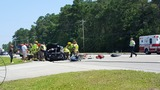 Crews working serious wreck on U.S. Highway 544