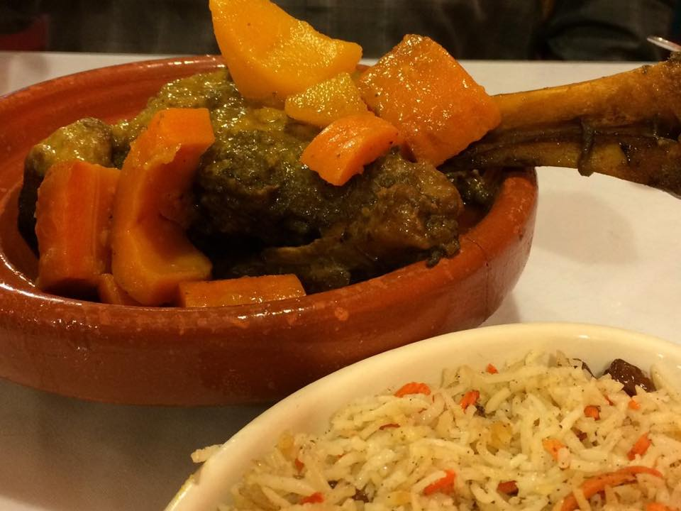 Lamb Tajine from Marrakech Moroccan Restaurant / Image courtesy of Marrakech Moroccan Restaurant // Published: 4.13.17