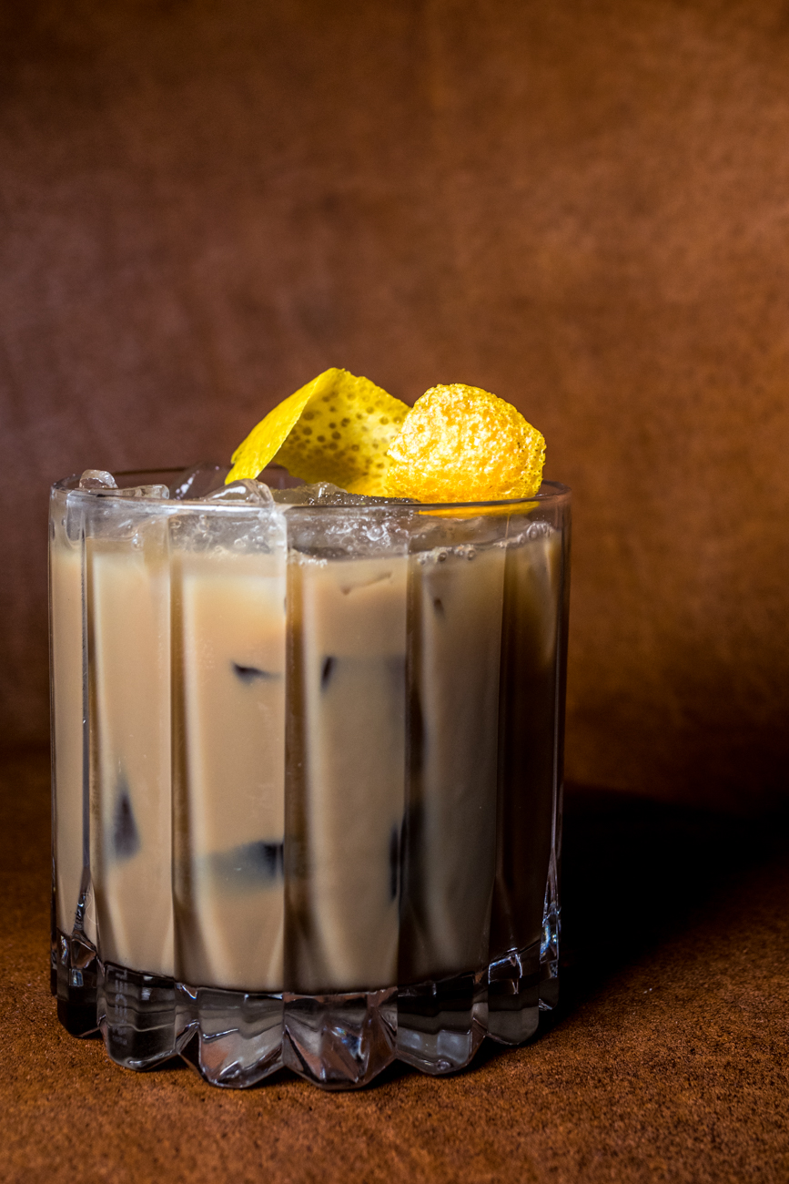 Zocalo Cafe: Cantera Negra Coffee tequila, cold pressed coffee, and orange-infused condensed milk / Image: Catherine Viox // Published: 1.23.20