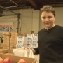 Students pack meals for kids in need