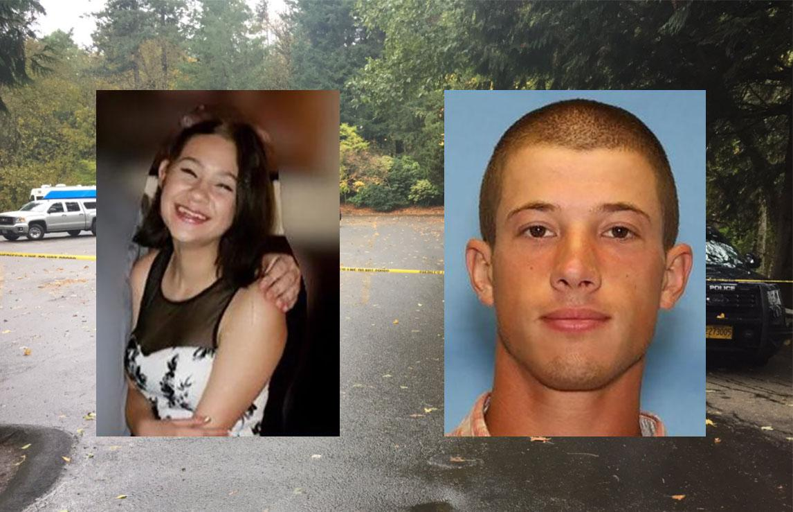 Photos of Annieka Vaughan and Zachary Petersen from the Washington County Sheriff's Office