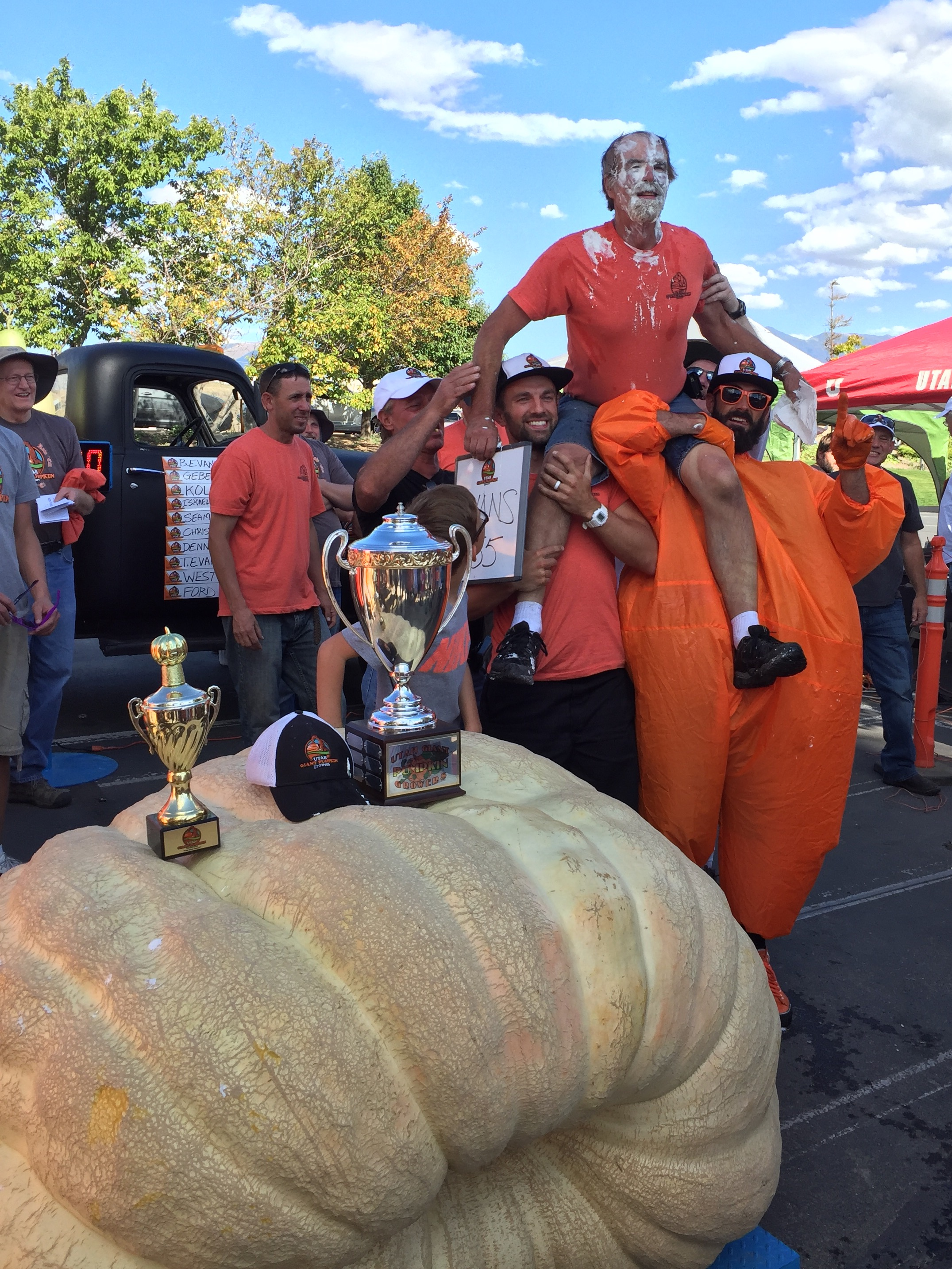 Annual Utah giant pumpkin growing contest draws pumpkin growers from across state (Photo: KUTV)