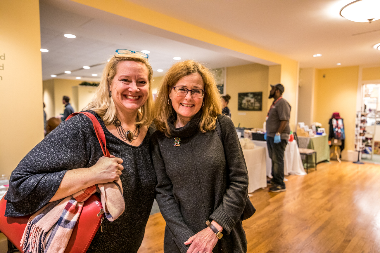 Karen Sieber and Minda Matthews-Smith / Image: Catherine Viox{ }// Published: 12.13.19
