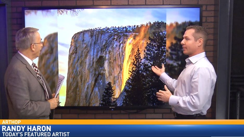 Local photographer Randy Haron visited Great Day to talk about his work featured at Fresno City Hall in downtown Fresno.