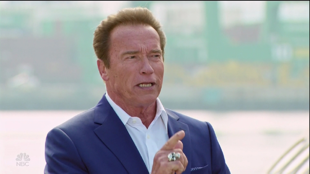 Schwarzenegger brushes off Trump's jabs over 'Apprentice' ratings: 'I have thick skin'
