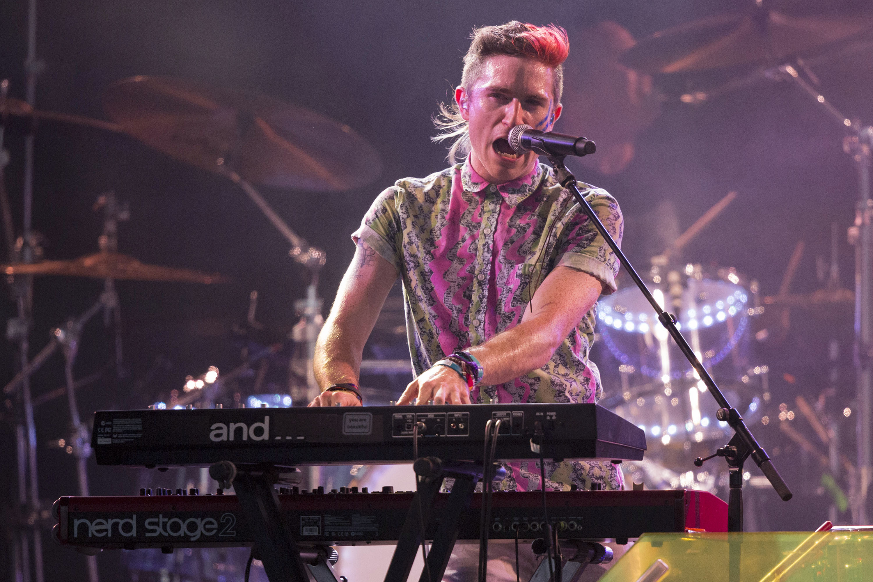 Walk the Moon (Credit: EXI/WENN.com)<p></p>