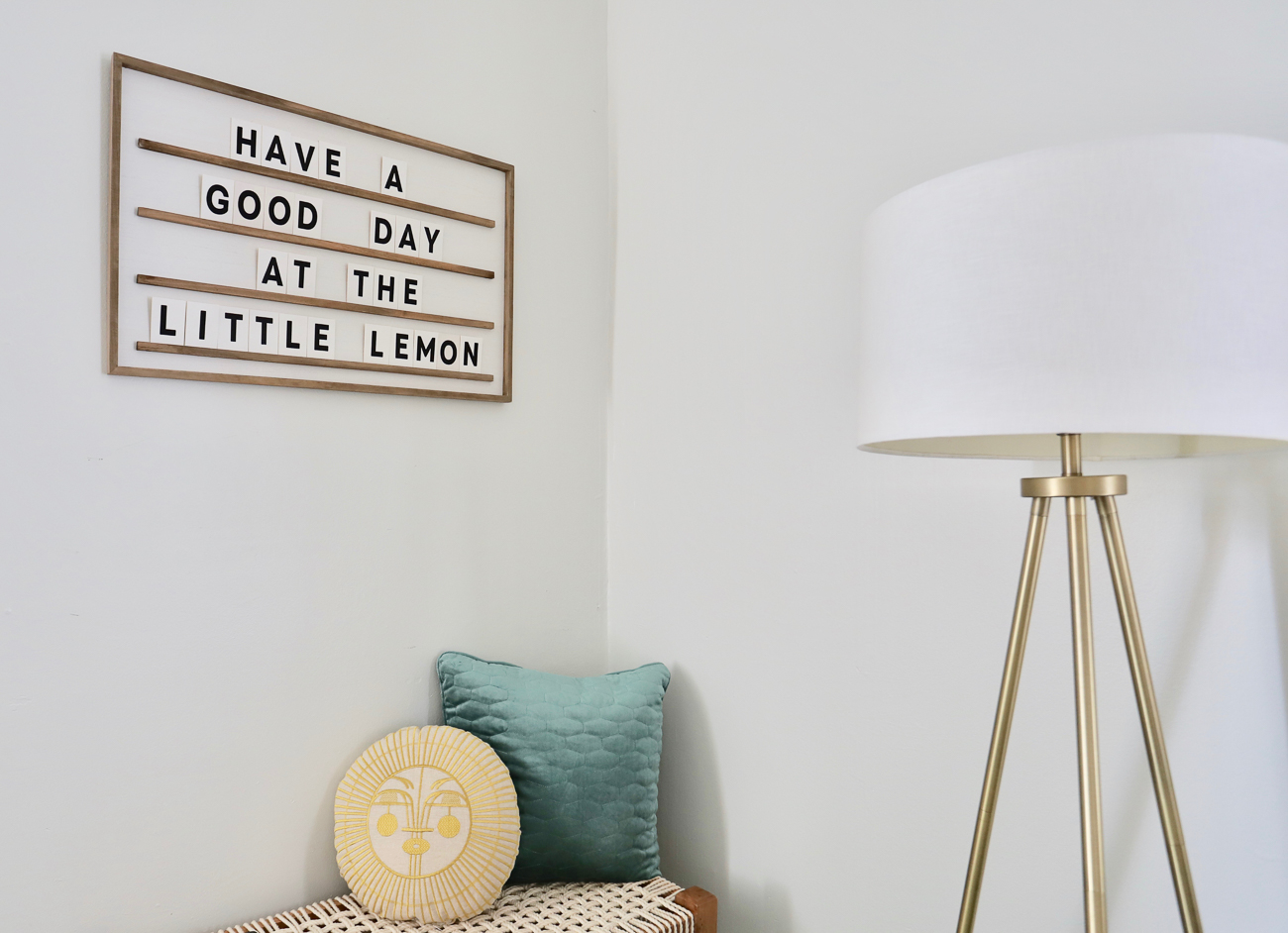 "Nicole Nichols transformed a 740-square-foot house in Oakley into an Airbnb and short-term rental. Entitled ""The Little Lemon,"" the house is just enough space for someone to stay overnight in comfort and style.{ }/ Image courtesy of Nicole Nichols // Published: 1.8.19"