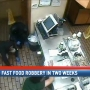 Third fast food armed robbery in less than 2 weeks caught on camera