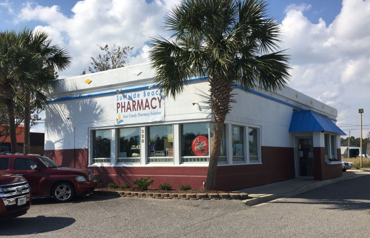 Pharmacist at Surfside Beach Pharmacy shoots at would-be robbers, chases them off (Madeline Montgomery/WPDE)<p></p>