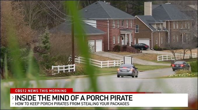 A porch pirate reveals the secrets so you can protect your holiday packages. (WPEC)