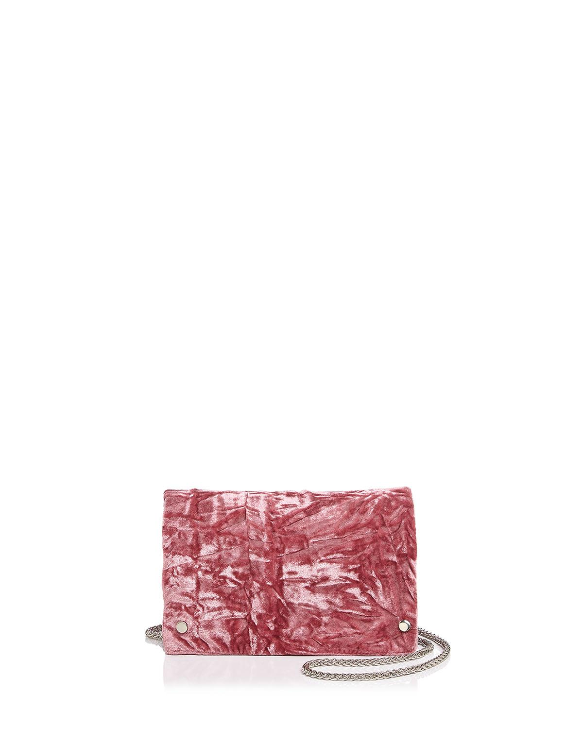 Street Level Toni Crushed Velvet Crossbody at Bloomingdale's // Price: $38.00 // (Image: Bloomingdale's // bloomingdales.com){&amp;nbsp;}<p></p>