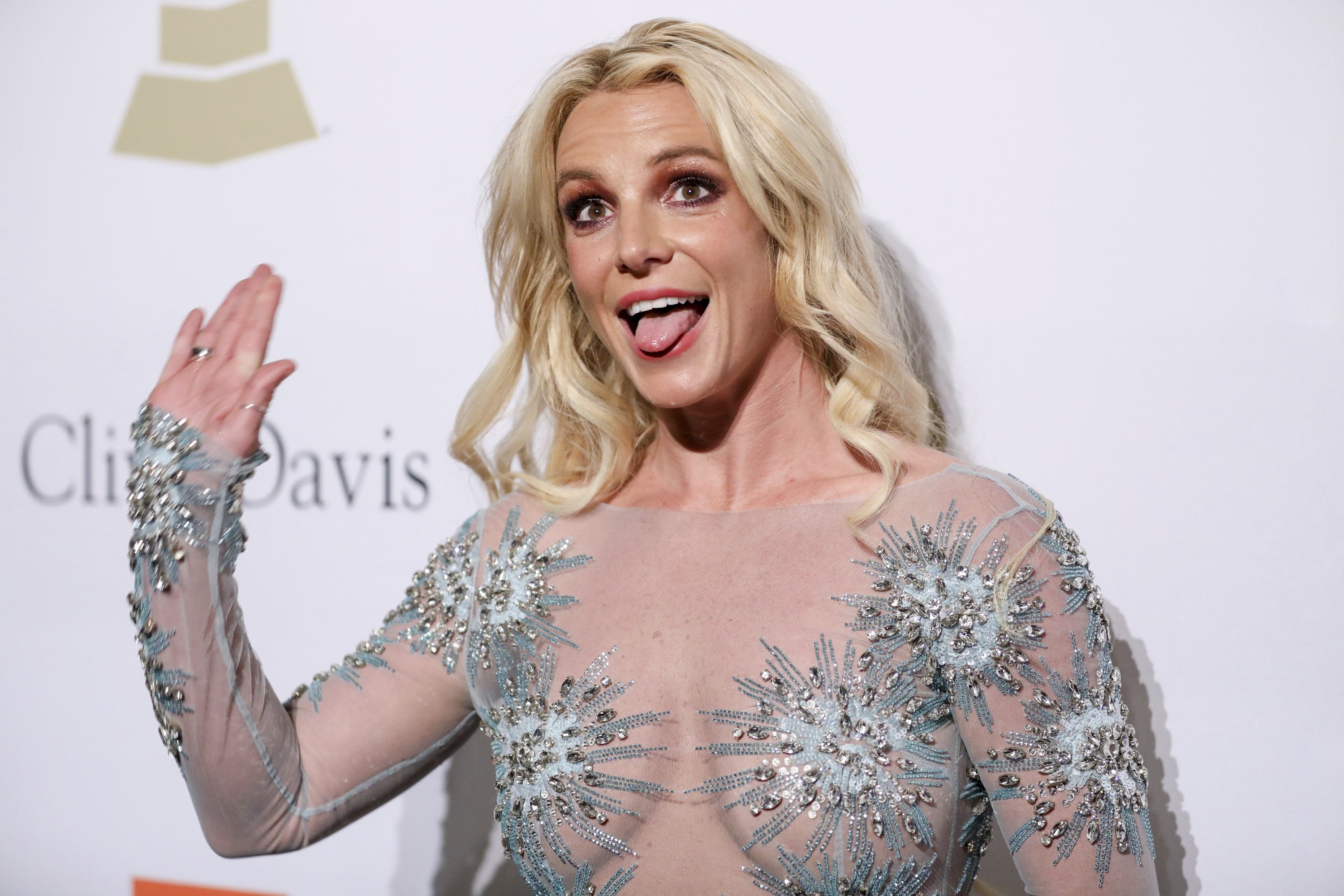 Britney Spears attends the Clive Davis and The Recording Academy Pre-Grammy Gala at The Beverly Hilton Hotel on Saturday, February 11, 2017, in Beverly Hills, Calif. (Photo by Rich Fury/Invision/AP)