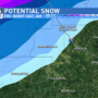 FRIDAY EVENING UPDATE: Areas northwest of Macon could see wintry mix